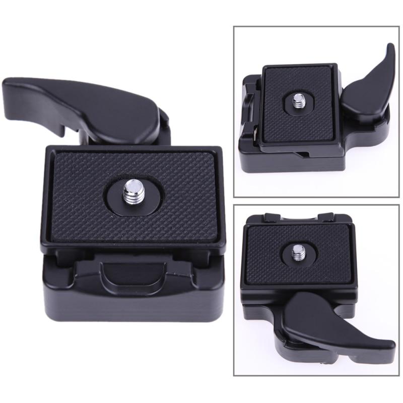 Universal Quick Release Plaque REFLEX DSLR Camera Lens Trépied Pince Plaque Adaptateur Trépied Monopodes Pour Trépied Vis