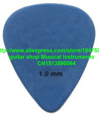 new 40 piece Guitar Picks 1.0 mm blue picks from china free shipping