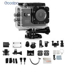 100% Brand name Goodpa Waterproof Action Camera camera go pro style SJ4000 go pro camera 30M 1080P Full HD DVR Sport cameras(China)