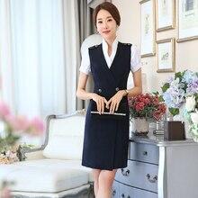 Dresses Stewardess-Uniforms Women Clothing Overalls Vest Aerospace Do370 And Autumn Beautician-Sales