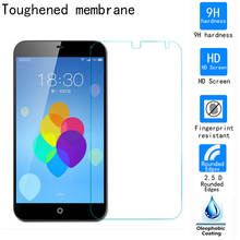 2.5D Tempered Glass For Meizu MX3 zero.2mm 9H premium Explosion Proof Toughen Glass display screen protector movie For Meizu MX three