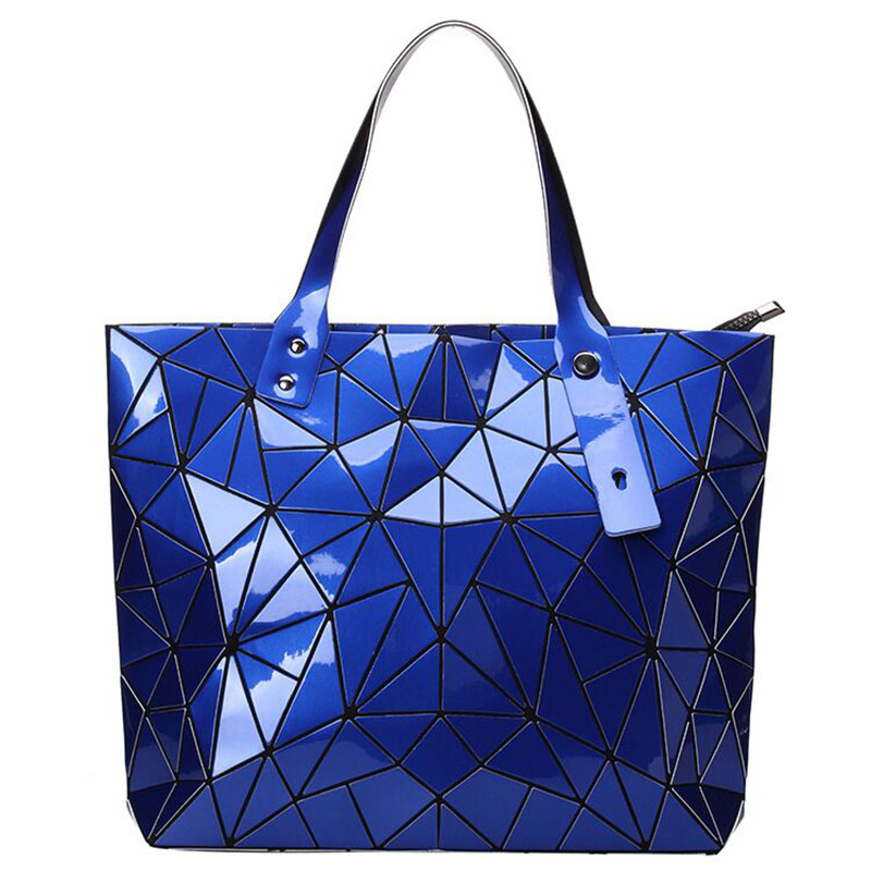 Yousijia Handbag BaoBao Bag Female Folded Geometric Plaid Bag BAO BAO Fashion Casual Tote Women Handbag Mochila Shoulder Bag aresland women bag female folded geometric plaid bag designer fashion casual tote women handbag shoulder bag quality leather