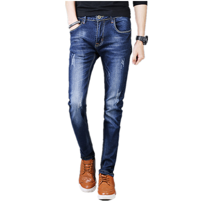 Free shipping 2017 new arrival jeans men Fashion elasticity men's straight jeans high quality Comfortable male pants NZ001 кастрюля 3 0 л taller tr 1093