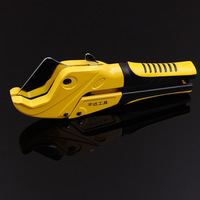 42mm Plastic Pipe Cutter PVC PPR PE Hose Water Tube Scissors Aluminum Alloy Body Ratcheting Cutting
