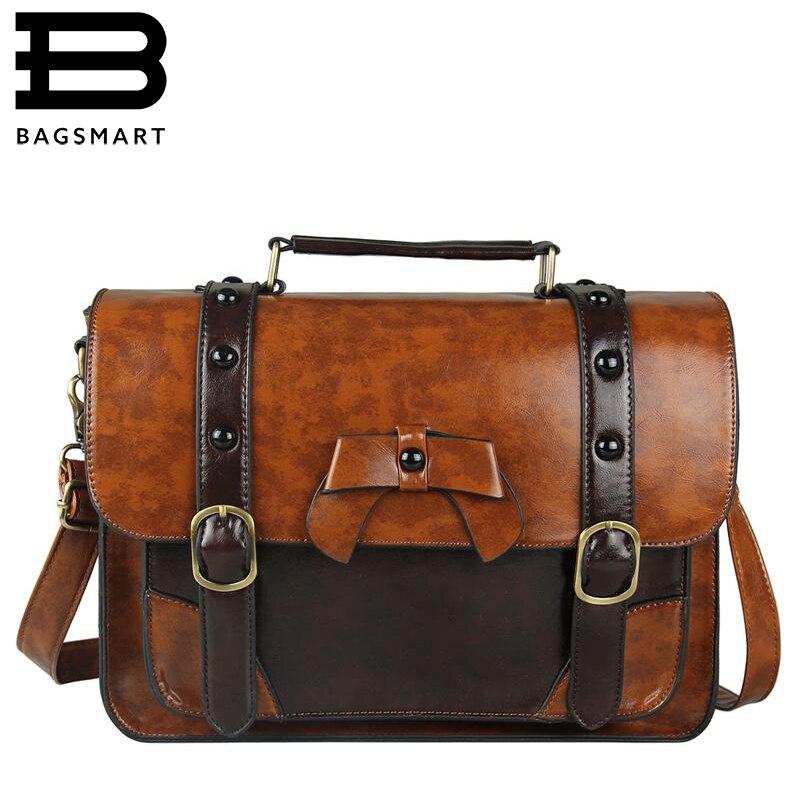 Online Get Cheap Leather Satchel School Bag -Aliexpress.com ...