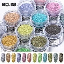 ROSALIND 10g Dip Powder Nail Art Glitter Powder Sequins Pigment Chrome Powder Beauty Nails Sparkly Nail Powder powder