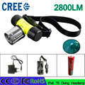 Z30 Waterpoof Diving Headlight  2800 Lumen diving Head Lantern T6 18650 LED Underwater Headlamp Swimming Lantern  Flashlight
