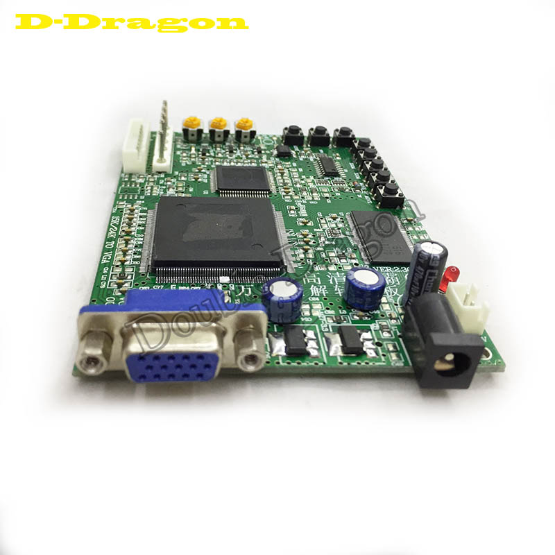 2 pcs Video game Converter Board for arcade game machine converting RGB CGA EGA YUV to