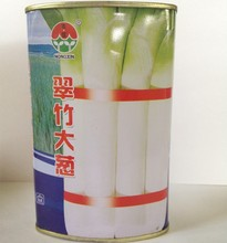 Vegetable seeds Bamboo onion seed white white coarse long onion seed star big disease resistance high yield 100g / box
