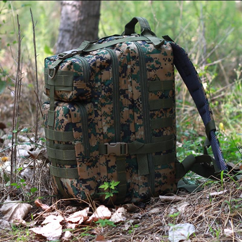 New Brand Waterproof Nylon Outdoor Field Hunting Molle Mount Bagpack Unisex Camouflage Attack Tactics knapsack new waterproof nylon