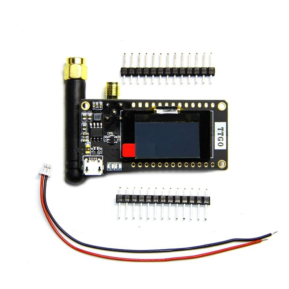 TTGO LoRa32 V2.1 868/915Mhz ESP32 LoRa OLED 0.96 Inch SD Card ESP-32 SMA IP5306 Bluetooth WIFI wireless Module