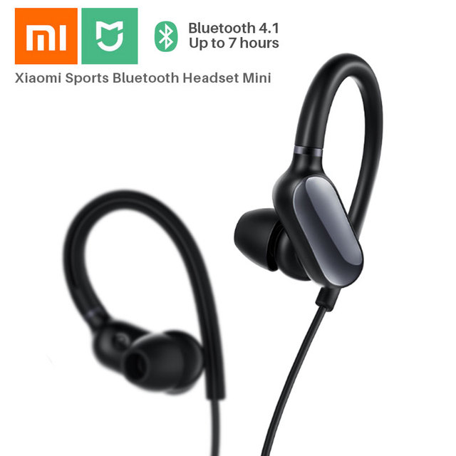 Xiaomi Mi Sports Bluetooth Headset Mini IPX4 Waterproof Sweatproof Mini  Bluetooth 4.1 Wireless Earphones Music Earbuds with Mic 3ce20a8514