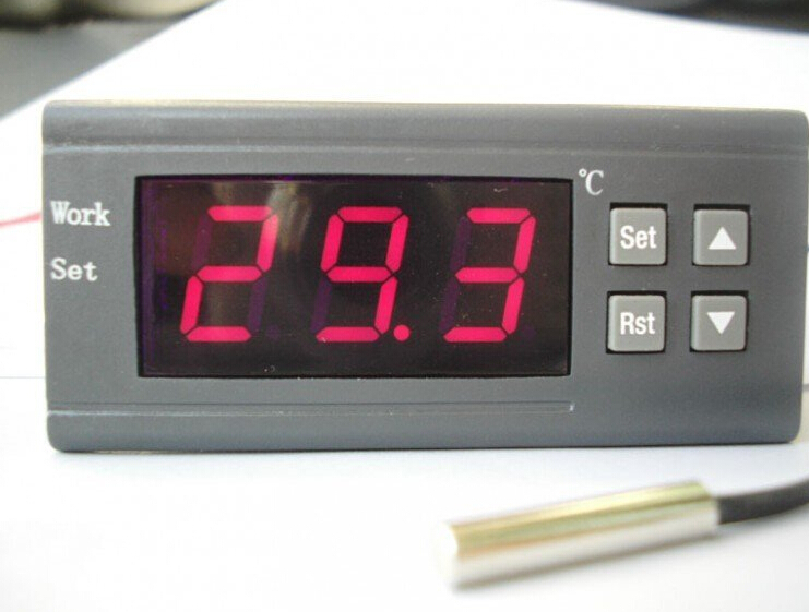 Free Shipping Willhi WH7016D Electronic Digital Temperature Controller Thermostat 0~300 Degrees Apply To The Oven