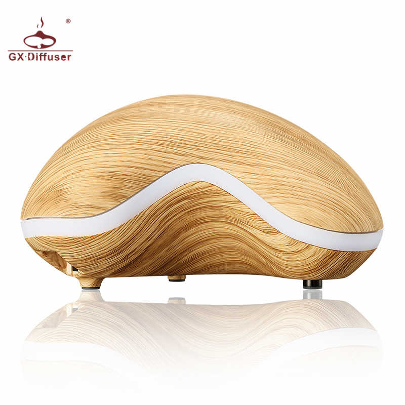 GX.Diffuser Cashew Nut Shape Aromatherapy Humidifier Ultrasonic Air Humidifier Essential Oil Aroma Diffuser Mist Maker Fogger
