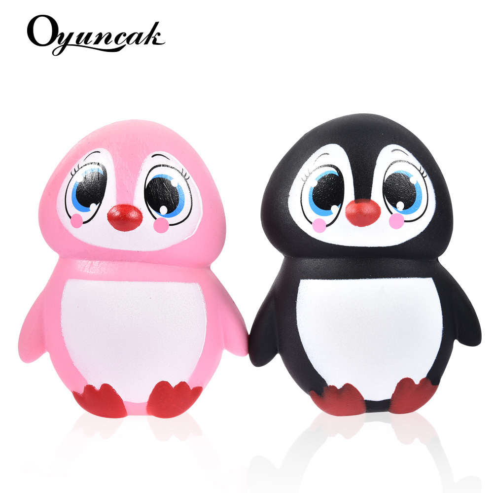 Oyuncak Squishy Squeeze Toy Penguins Antistress Entertainment Novelty Gag Toys For kids Squshy Practical Jokes Fun Popular Gifts oyuncak fun antistress squishy entertainment rat for adults popular squeeze toys funny gags practical jokes anti stress squishe