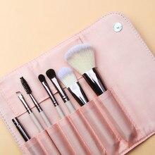 New  Brushes 7pcs Makeup Sets Make Up Brush Cosmetic Beauty Blush Powder Concealer and Bag