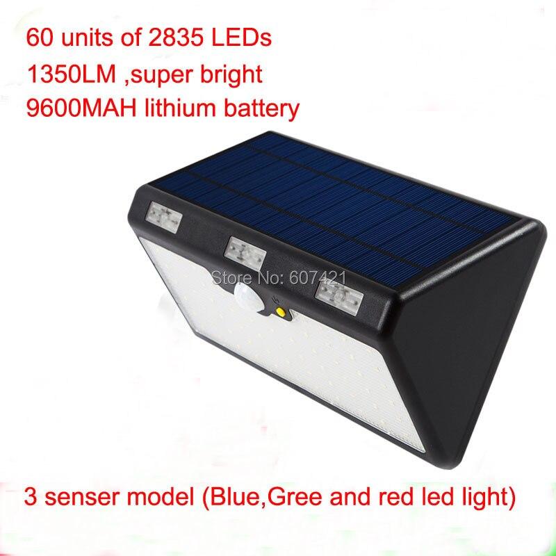 4800AMH, 4 lumières solaires de LED de plate-forme de modèle, système solaire extérieur imperméable de lumière de pancarte LED pour le Patio, plate-forme, cour, jardin
