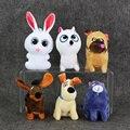 1 Шт. 9 ~ 16 см Собака Кролик мини Куклы Мягкие Подвесные Плюшевые Игрушки Мягкие Мягкие Игрушки С Брелок