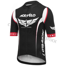 2019 Morvelo Summer Cycling Jersey Men Pro team Anti UV Bicycle Clothing Maillot Ropa Ciclismo Outdoor Sport MTB Bike Clothes недорго, оригинальная цена