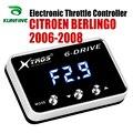 Автомобильный электронный контроллер дроссельной заслонки гоночный ускоритель мощный усилитель для CITROEN BERLINGO 2006-2008 Тюнинг Запчасти аксесс...