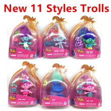 2016 New Trolls Dreamworks Movie Trolls Action Figure font b Toys b font Poppy Branch Kawaii