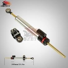 Motorcycle Universal Adjustable Aluminum Damper Steering Stabilize Safety Control  For Yamaha MT10 MT07 MT09 MT 10 09 07