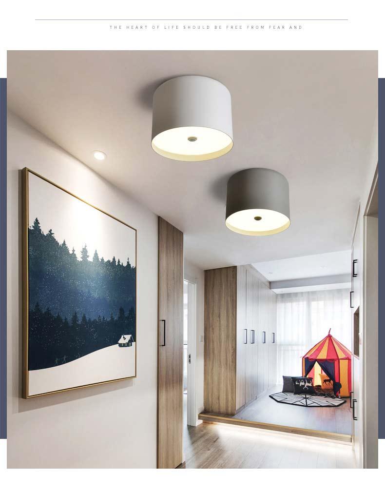 Modern Macaron Led Living Room Bedroom Kitchen Lamp Ceiling Light ...