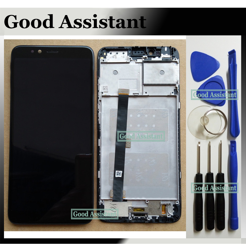 Original Black 5.7 inch For Lenovo S5 K520 Full LCD DIsplay Touch Screen Digitizer Assembly Replacement With Frame Free Tools