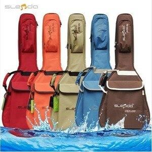 Высококачественный Профессиональный портативный рюкзак 40 41 для музыки, акустической гитары, мягкая сумка для концертов, водонепроницаемый...