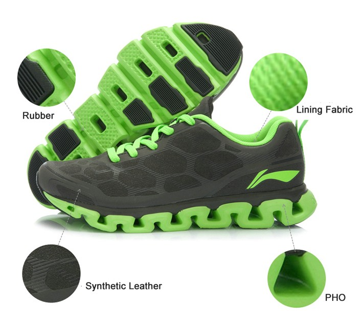 Li-Ning Men Running Shoes Light Mesh Breathable Cushioning Li-ning Arch Techonology Sneakers Sport Shoes ARHJ049 XYP039 9