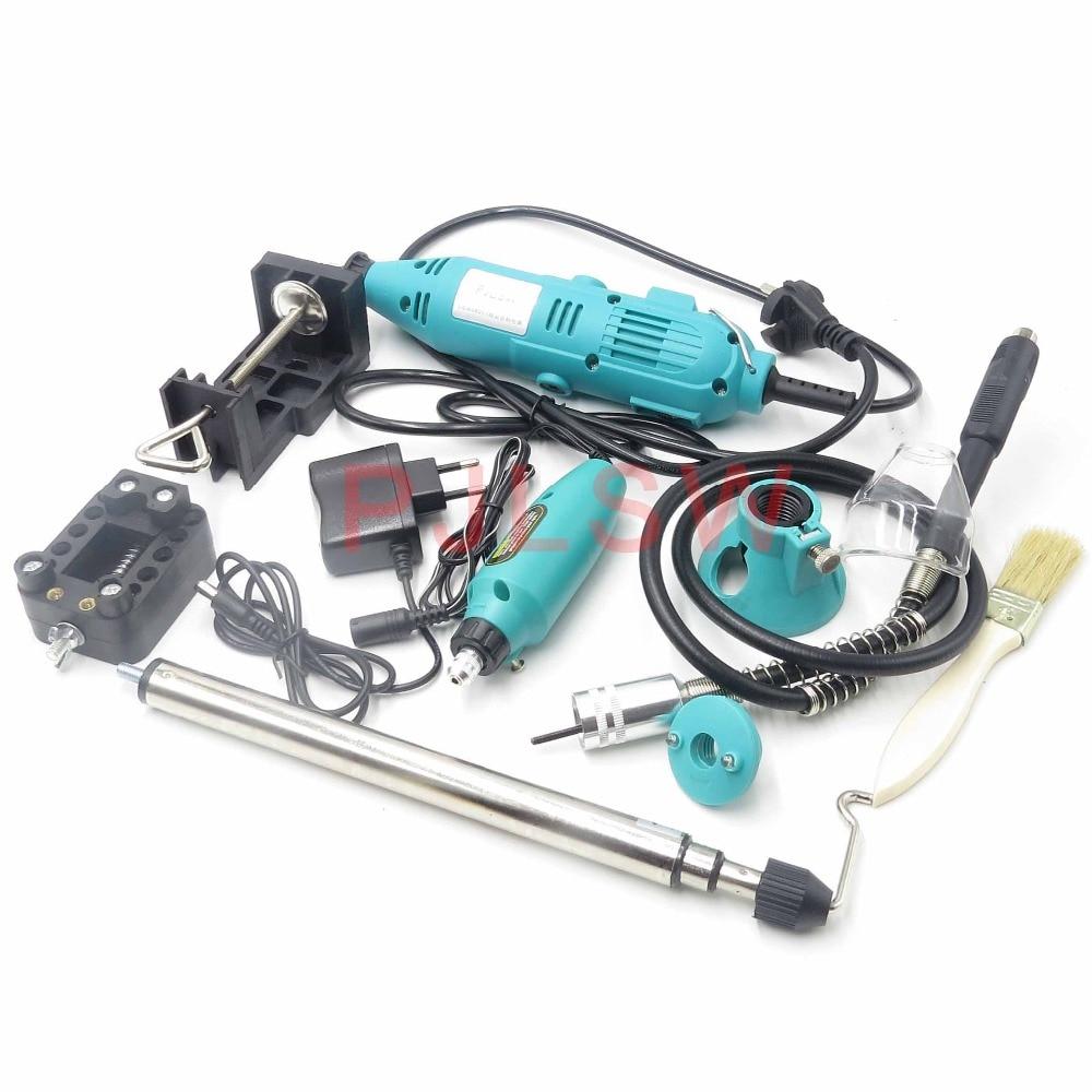 PJLSW 180w 350-I Kit kombination werkzeug elektrische grinder anzug kleine jade carving maschine polieren maschine schleifen machin