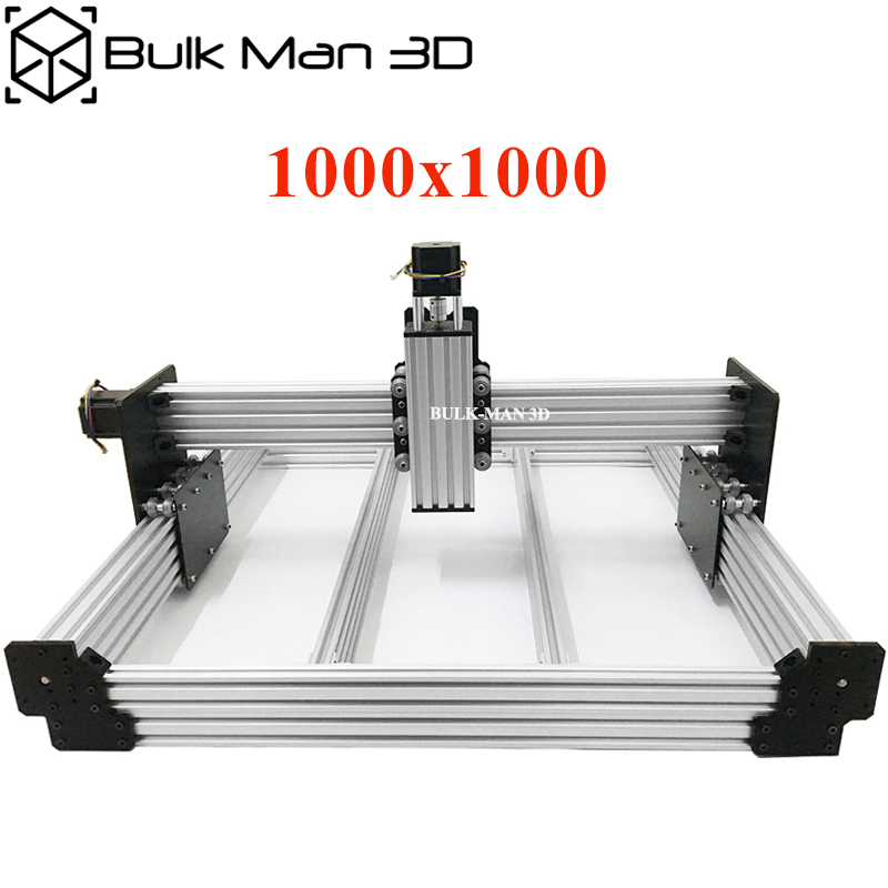 40x40 Inch Workbee CNC Router Machine Kit 4Axis Wood Metal Engraving Milling Machine with 175 oz