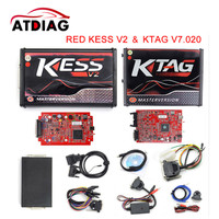 Best Quality Online Red EU KESS V5 017 Ktag V7 020 V2 23 No Tokens Limit