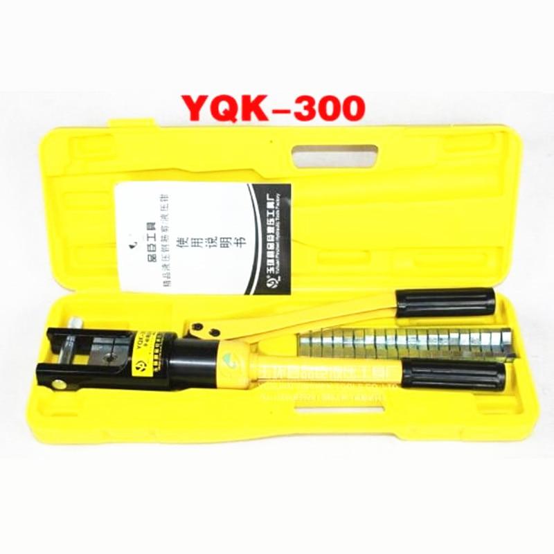цена на YQK-300 hydraulic crimping tool 12 Ton hydraulic cable lug crimping tool 16-300mm2 hydraulic crimping pliers