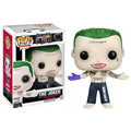 FUNKO POP DC Super HEROS Suicide Squad THE JOKER HARLEY QUINN BOOMERANG RICK FLAG KILLER CROC DEADSHOT KATANA POP DOLL