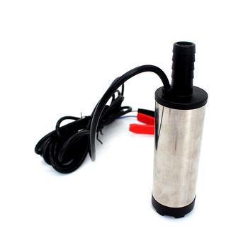 12V 24V DC electric submersible pump for pumping diesel oil water ,Stainless steel shell,12L/min,fuel transfer pump 12 V volt 12v 24v dc electric submersible pump fuel transfer pump stainless steel shell 12l min 12 24 v volt for pumping diesel oil water