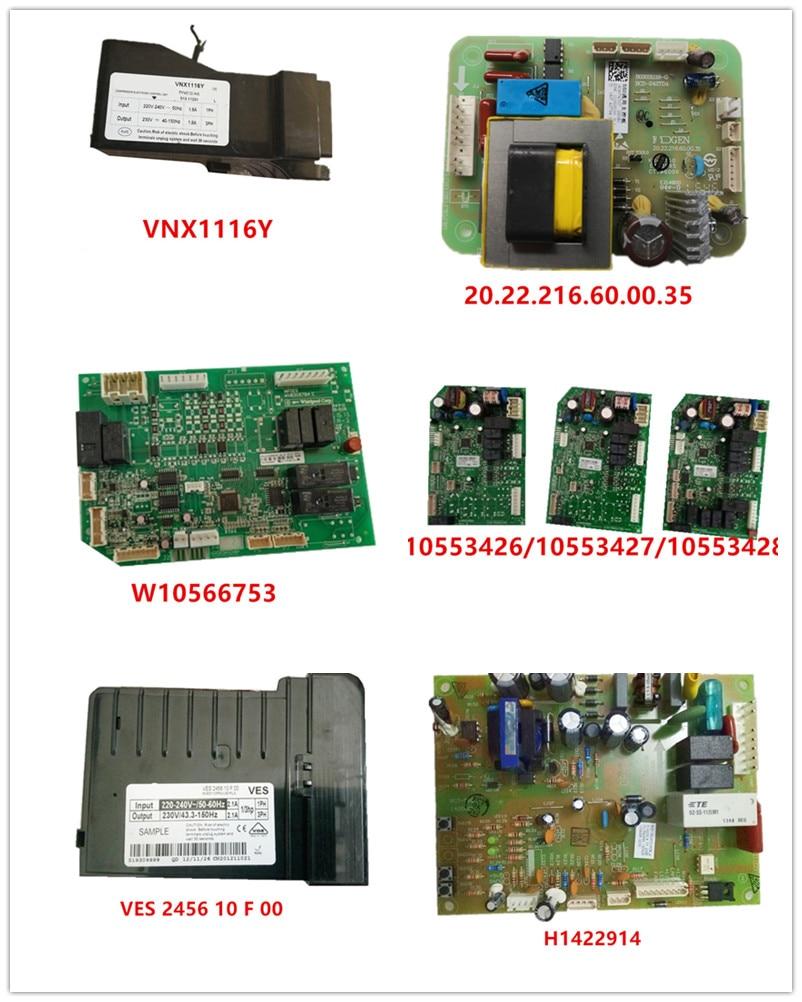VNX1116Y  20.22.216.60.00.35  W10566753  W10553426  W10553427  W10553428  VES 2456 10 F 00  H1422914 Used Good Working