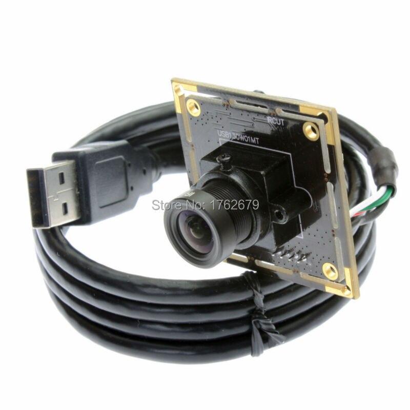 1.3MP 1280*960 1.3MP Aptina AR0130 Webcam OTG UVC USB Camera Module with 6mm Lens hd 1 3mp 1280 x 960 2 8 12mm varifocal lens aptina ar0130 cmos sensor android mini box usb camera module with high speed usb 2 0