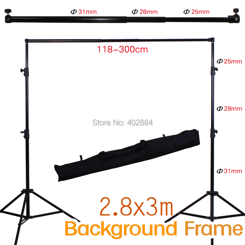 Photography Background Support 2 88mx3m 9 4ftx9 8ft Include Stands Section Crossbar Bag Photo Studio Background