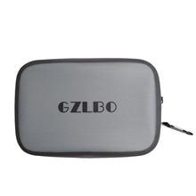 GZLBO Nuevo Impermeable TPU Bolsa de Organizador de Bolsa de Cosméticos de Viaje Gris Necessaries Maquillaje Bolsa de Tocador de Lavado bolsa
