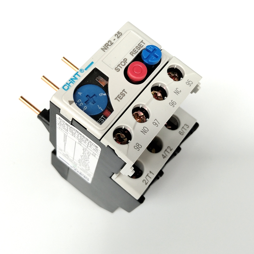Chint NR2-25/Z 5.5-8A Thermal Overload RelayChint NR2-25/Z 5.5-8A Thermal Overload Relay