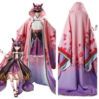 FGO Fate Grand Order Assassin Osakabehime Osakabe Hime Cosplay Costume Dress Gown