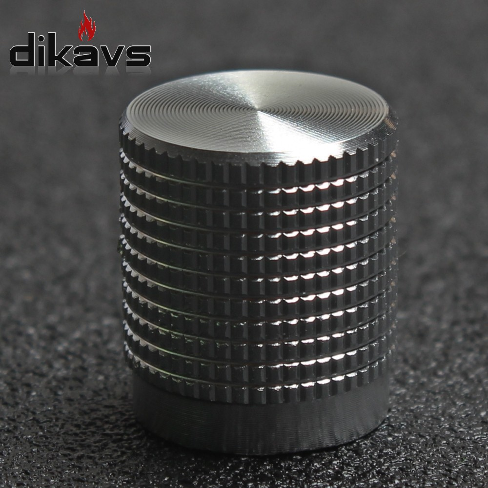 Solid Aluminum Potentiometer Encoder Knob Volume Knob  HIFI Knob Audio Adjustment Knob 16x14mm