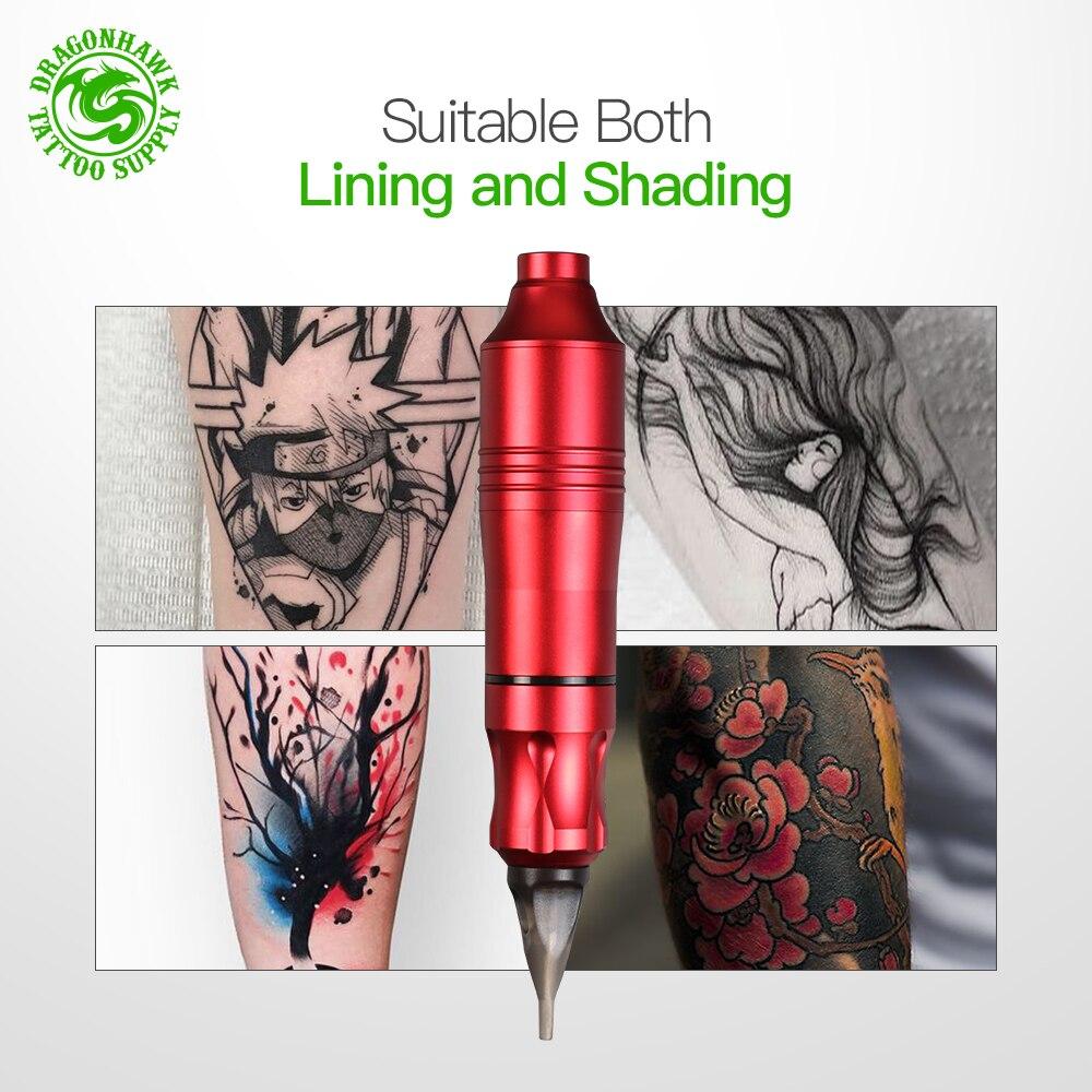 Tatouage rotatif Machine stylo Style ensemble tatouage Kit LCD puissance pédale tatouage approvisionnement livraison gratuite maquillage Permanent Machine assortiment - 3