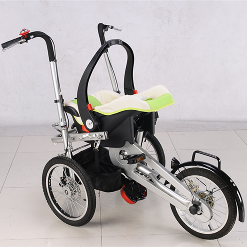 New Arrival Baby Stroller 2017 Tricycle For Babies Boy Girls 3 Wheels Trolleys for 0-6 years old babies Support 100kg in a Bike child drift trike 4 wheels walker kids ride on toys for 1 3 years tricycle outdoor driver