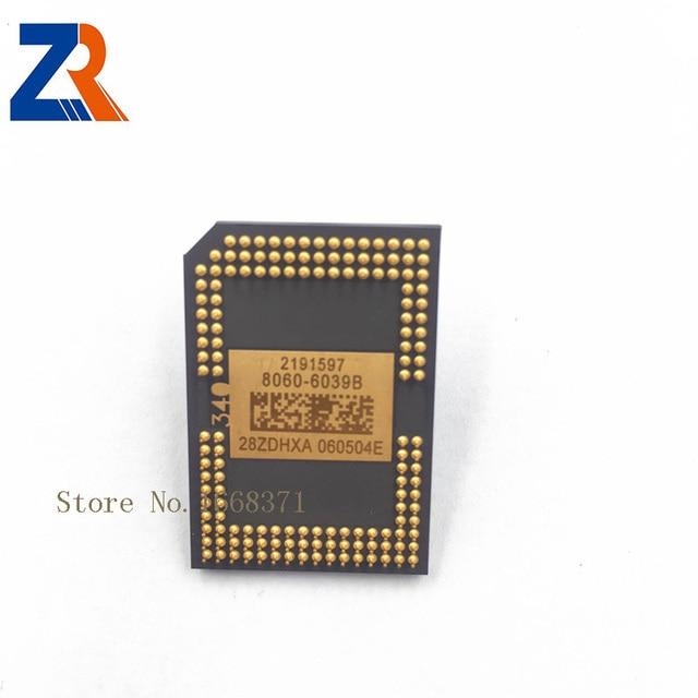 رقائق ZR الأكثر مبيعًا من رقائق DLP DMD الأصلية الجديدة 8060 6038B 8060 6039B 8060 6138B 8060 6139B 8060 6338B 8060 6439B (800 × 600 بكسل).