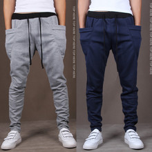 2017 New Spring Fashion Brand Men's Clothing  Men's Sweat Pants ,Quality Men's Slim Fit Design Trousers free shipping