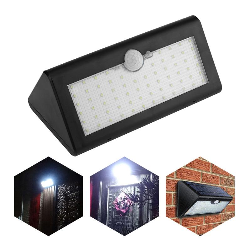 60 LED Solar Light 1300lm Super Bright Upgraded Lamp Lights For Outdoor Wall Yard Garden With Five Modes In One Solar Lamps outdoor light solar garden lights outdoor wall lamp wall lamp light sensing super bright lamp waterproof household solar fg209