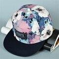 Мужская женская Оборудованная шляпы Зомби вампир рисунком snapback aseball cap хип-хоп Harajuku флуоресценции Корейский Регулируемая приливная плоским