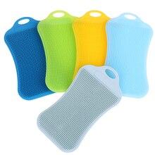 1 шт., силиконовая подставка для чистки кухни